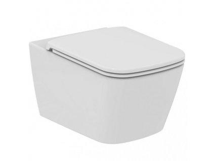 Akciový set Ideal Standard Mia závesné wc + Mia spomaľovacie wc sedátko ultra ploché