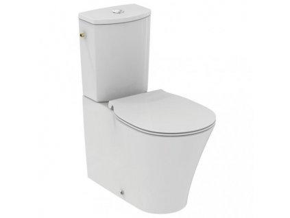 Ideal Standard Connect Air stojacá kombi wc misa Aquablade 36x66 cm s hlbokým splachovaní bez nádržky E013701
