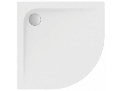 Ideal Standard Ultra Flat sprchová vanička 80x80 cm sanitárny akrylát štvrťkruh K193901