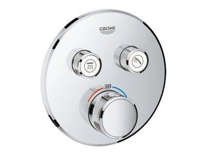 Grohe Smart Control Podomietkový termostat pre vaňu a sprchu chróm 29119000