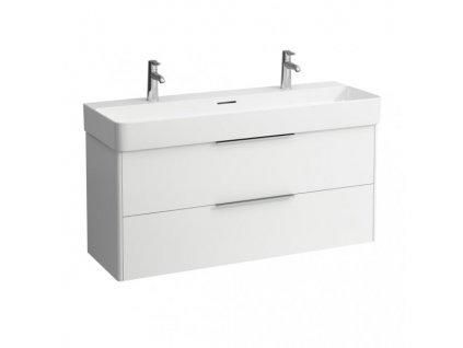 Laufen Base - skrinka lesklá biela pod umývadlo Laufen Val 120 x 42 cm
