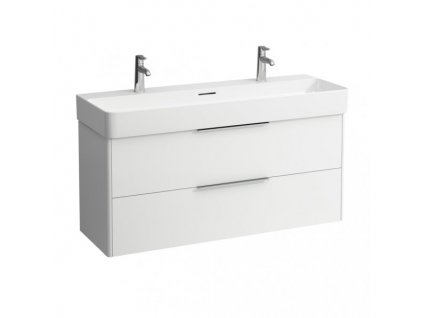 Laufen Base skrinka lesklá biela pod umývadlo Laufen Val 120x42 cm