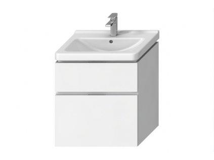 Jika Cubito Pure skrinka pod umývadlo zásuvka biela/čelo lesklý lak HJ kupelnashop.sk