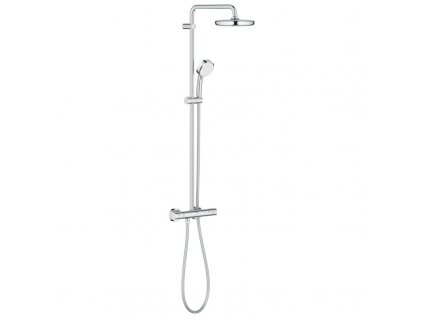 Grohe New Tempesta Cosmopolitan 210 sprchový systém s termostat na stenu chróm 27922001 kupelnashop