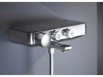 Grohe Grohtherm SmartControl termostatická vaňová nástenná batéria 34718000 Kupelnashop.sk 1