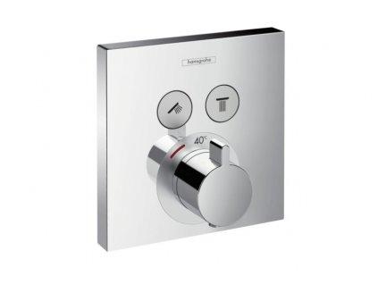 Hansgrohe ShowerSelect termostatická podomietková batéria pre 2 spotrebiče 15763000 kupelnashop.sk.sk kupelnashop.sk