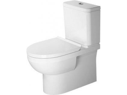 Duravit Durastyle stojaté WC rimless oplach nádržka spomaľovacie WC sedadlo kupelnashop.sk