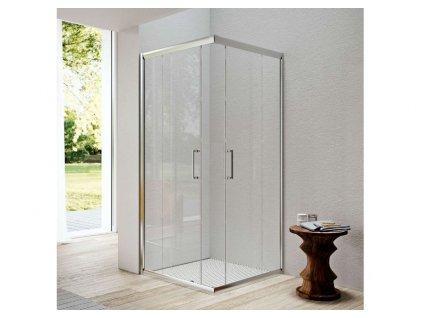Glass 1989 Isy posuvné dvere, rohový vstup, pre šírku vaničky 80 cm, GEX0003T500 35021 kupelnashop.sk