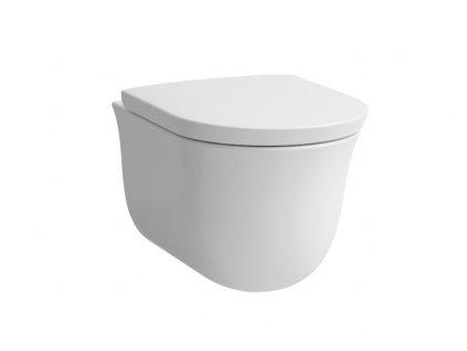 Laufen THE NEW CLASSIC Rimless závesná wc misa 53x37cm 8208510000001 Kupelnashop.sk