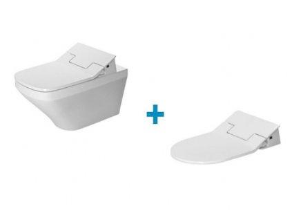 DURAVIT Dura Style SET 2v1 WC misa Rimless + sedátko SensoWash Slim 631001002004300 Kupelnashop