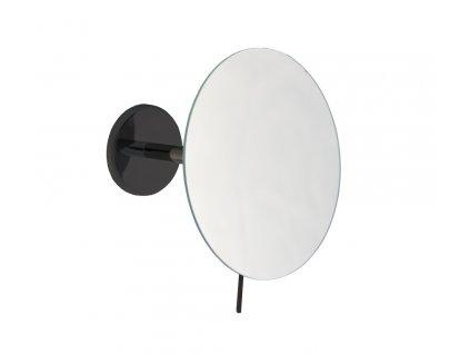EMCO Loft nástenné kozmetické zrkadlo čierné oblé 109413302 kupelnashop.sk