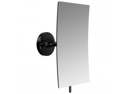 EMCO Loft nástenné kozmetické zrkadlo hranaté čierne 109413307 kupelnashop.sk