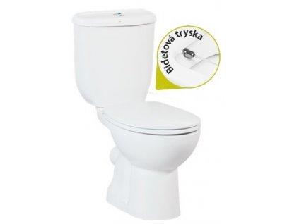 Creavit Sedef Stojace WC + bidet 2v1 zadný odpad SD3141 kupelnashop.sk