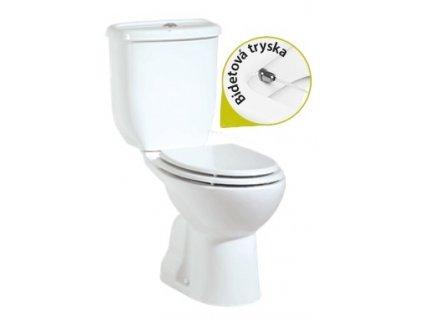 Creavit Sedef Stojace WC + bidet 2v1 spodný odpad SD3041 kupelnashop.sk