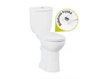 Creavit Handicapped Stojace WC +Bidet 2v1 so zadným odpadom BD3141 kupelnashop.sk