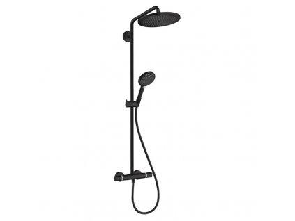 HANSGROHE Croma Select S280 Termostatický sprchový systém čierny 26890670 kupelnashop.sk
