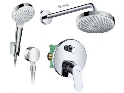 HANSGROHE Set 1 New podomietkový sprchový systém komplet kupelnashop.sk