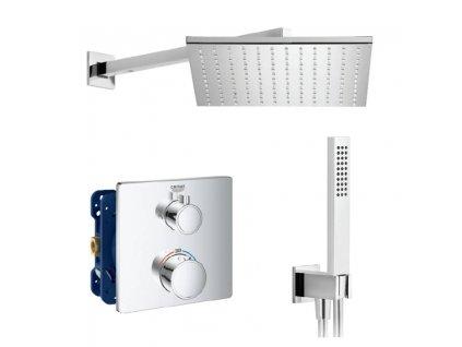 GROHE Grohtherm Set 1 termostatický sprchový systém pod omietku komplet kupelnashop.sk