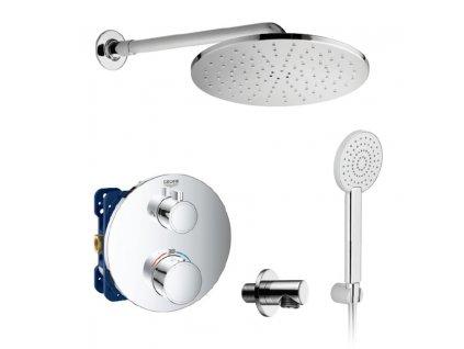 GROHE Grohtherm Set 2 termostatický sprchový systém pod omietku komplet kupelnashop.sk