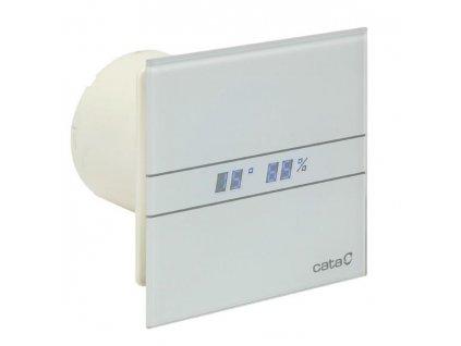 Cata ventilátor priemer 150mm biele sklo vlhkomer+časovač kupelnashop.sk