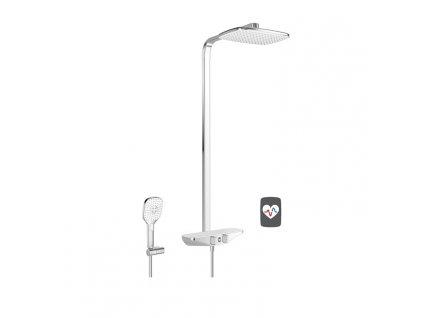 HANSA EMOTION Wellfit termostatický sprchový systém s hlavovou sprchou 5865017282 kupelnashop.sk