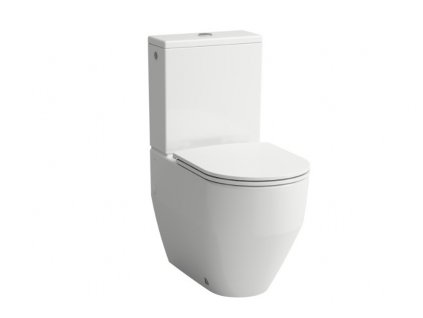 Laufen Pro Rimless stojaca WC misa + nádržka + spomaľovacie sedadlo 1