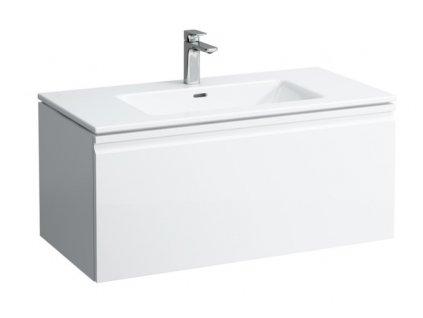 Laufen Pro S PACK umývadlo slim so skrinkou 100x50cm biela matná H8609654631041 kupelnashop.sk
