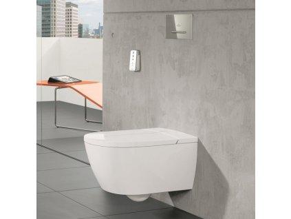 Villeroy&Boch Viclean wc+bidetové wc sedátko obrázok kupelnashop.sk