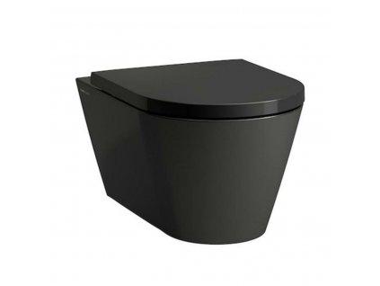 Laufen Kartell čierne závesne wc kupelnashop.sk