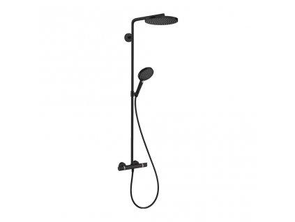 Hansgrohe Raindance Select S čierny shower system 27633670 kupelnashop.sk