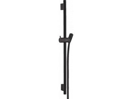 Hansgrohe Unica´S Puro 0,65 m sprchová tyč s hadicou matná čierna 28632670 Kupelnashop.sk