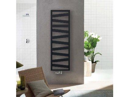 Zehnder Kazeane čierny radiátor do kúpeľne kupelnashop.sk
