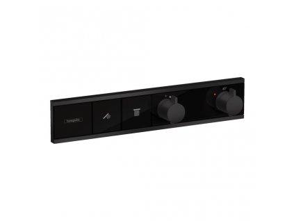 Hansgrohe RainSelect čierna termostatická batéria