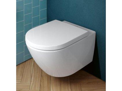 Villeroy & Boch Subway 3.0 set 2v1 závesné WC TwistFlush + spomaľovacie WC sedadlo  4670TS01 Kupelnashop.sk