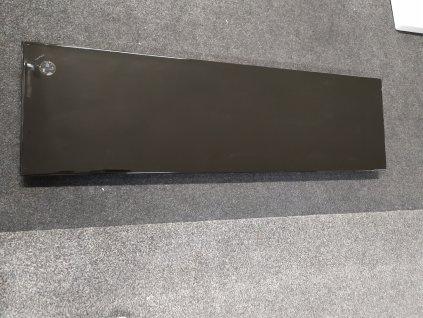 Laufen Palace keramická polica 130x38cm čierna H8704350200001
