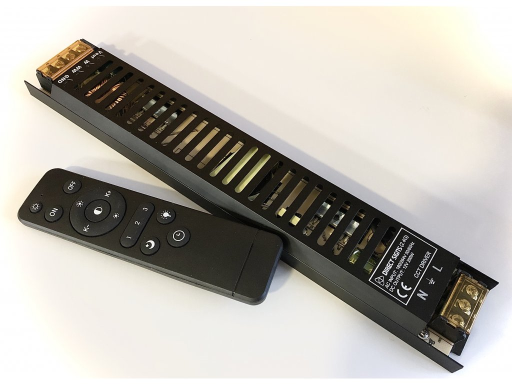 CCT kontroler s napájecím zdrojem 200W
