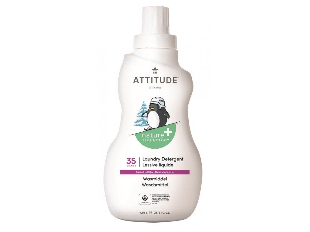 Prací gel pro děti ATTITUDE s vůní Sweet Lullaby 1050 ml (35 pracích dávek)