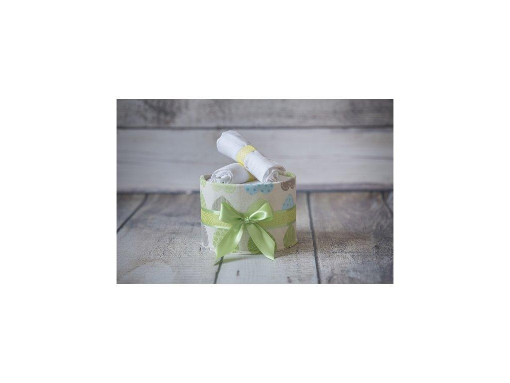 Plenkový dort jednopatrový zelený