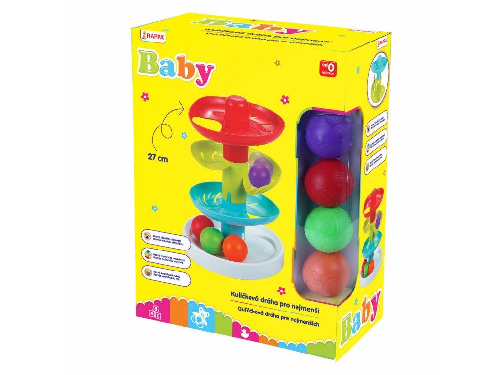 dráha kuličková pro nejmenší baby