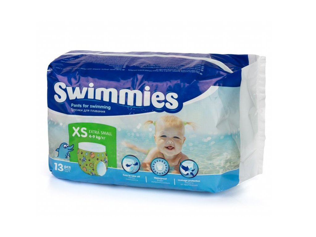 Swimmies XS 4 9kg ,13ks