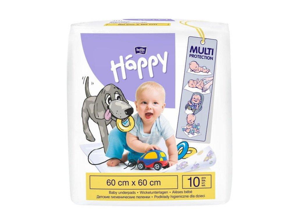 Bella Baby Happy přebalovací podložky 60 x 60 10 ks