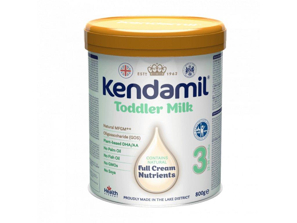 Kendamil 3 batolecí mléko (800g) DHA+