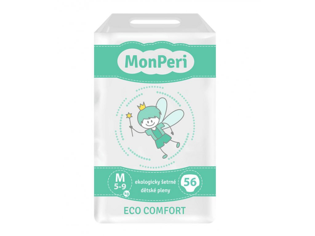 MonPeri Eco Comfort M 5 9 kg, 56ks