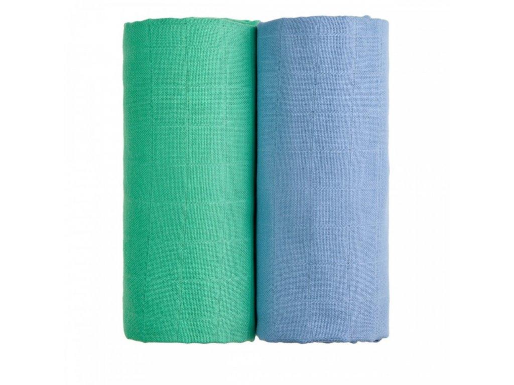 TETRA osušky EXCLUSIVE COLLECTION, modrá + zelená