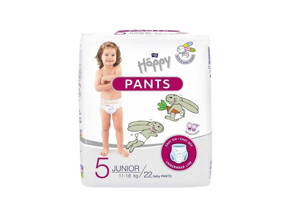 Bella Happy Pants 5 Junior (11 18 kg) 22 ks