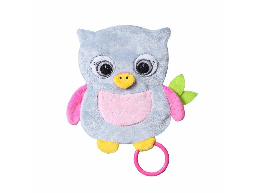 plyšová hračka pro kojence Sova Celaste