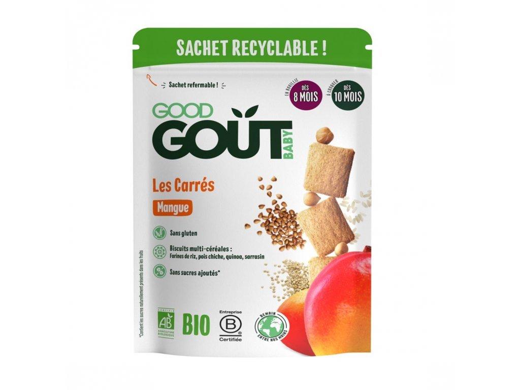 Good Gout BIO Mangové polštářky (50 g)