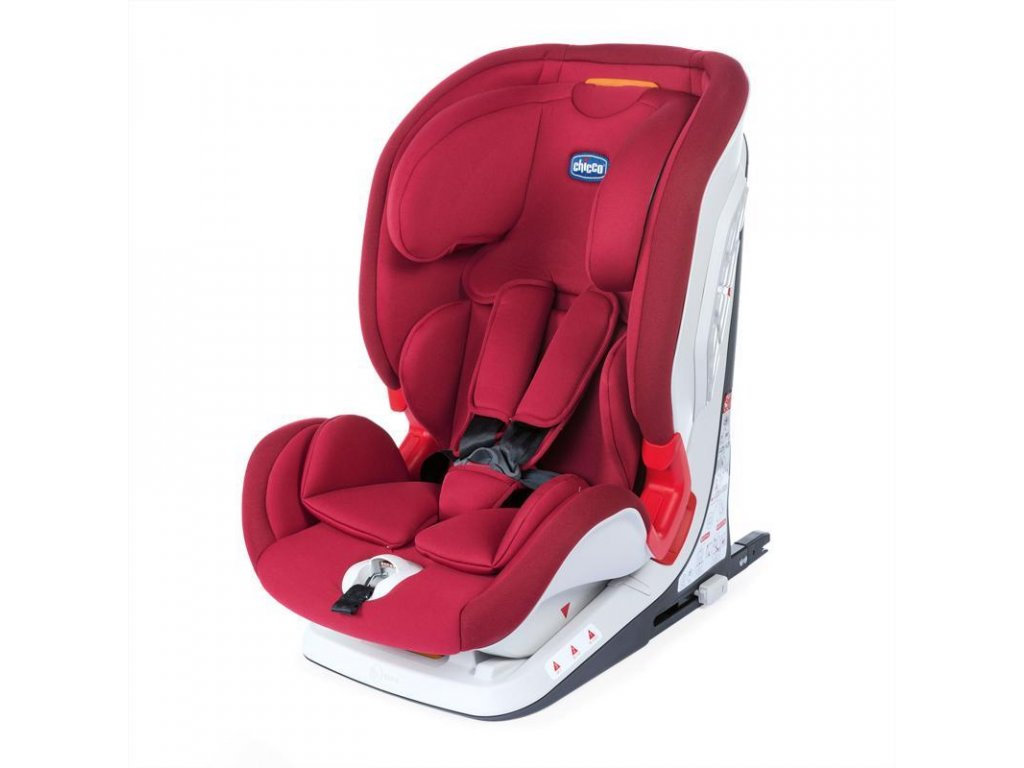 CHICCO Autosedačka Youniverse Fix Red Passion (9-36 kg)