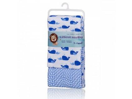 Látkové osušky, pink snails růžoví šneci+