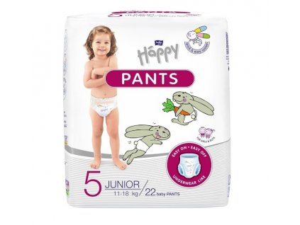 Bella Happy Pants 5 Junior (11 18 kg) 22 ks